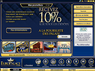 euro palace online casino canada