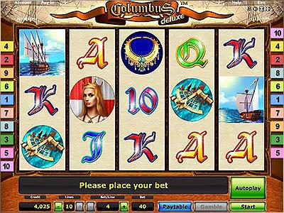 Machine à sous Columbus gratuit dans Novoline casino